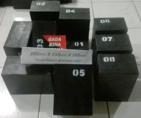 Elastomer Bearing Pads 200 X 150 X 100