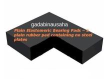 Plain Elastomeric Bearing