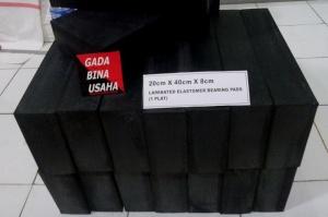 ELASTOMERIC BEARING PADS 1PLAT (400x200x80 )1