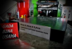 ELASTOMERIC BEARING PADS 1PLAT (450x350x54 )