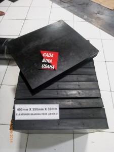 ELASTOMERIC BEARING PADS POLOS(400x350x39)10