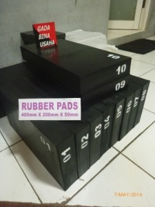 Rubber Pad 400x200x50 (5)